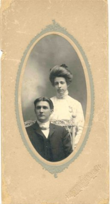 Photo of Addison Elmver and Gertrude Ann Fretwell